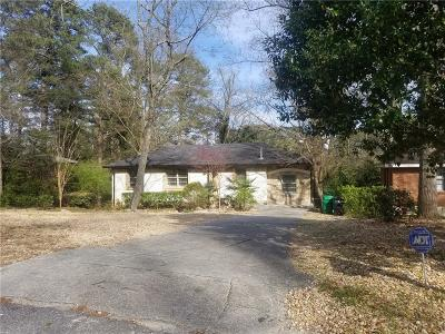 Brookhaven Single Family Home For Sale: 1478 N Druid Hills Road NE