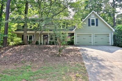 Marietta Single Family Home For Sale: 3774 Tulip Tree Road