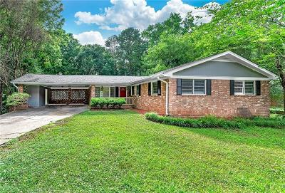 Austell Single Family Home For Sale: 2033 Brannon Drive