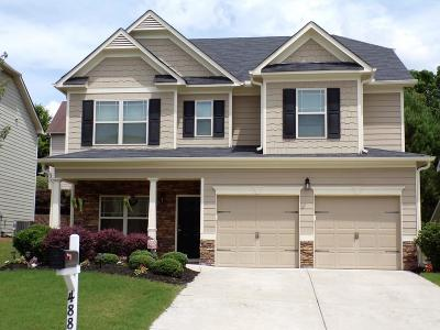Canton Single Family Home For Sale: 488 Crestmont Lane