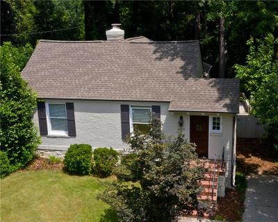 Atlanta Single Family Home For Sale: 2337 Hurst Drive NE