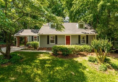 Atlanta Single Family Home For Sale: 2578 Ridgewood Terrace NW