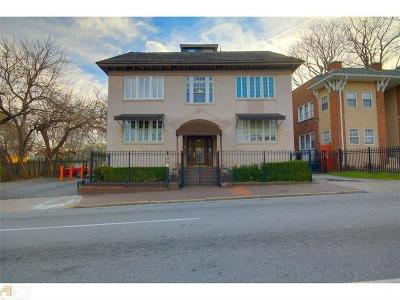 Atlanta Condo/Townhouse For Sale: 673 Boulevard NE #12