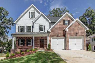 Marietta Single Family Home For Sale: 312 Loring Court