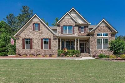 Acworth Single Family Home For Sale: 3215 Sundew Drive NW