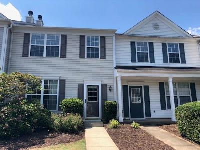 Peachtree Corners, Norcross Condo/Townhouse For Sale: 5734 Reps Trace