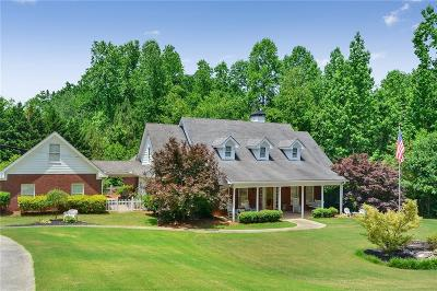 Dawsonville Single Family Home For Sale: 6715 Anderson Lake Road