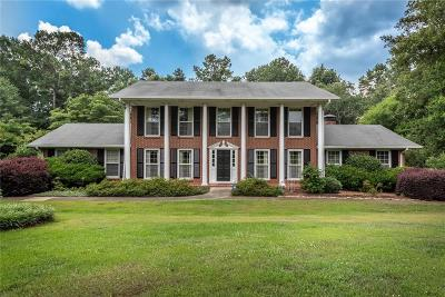 Kennesaw Single Family Home For Sale: 733 N Booth Road NW