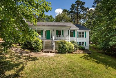 Acworth Single Family Home For Sale: 3474 Rabbit Run NW