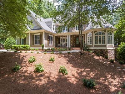 Alpharetta Single Family Home For Sale: 580 Hickory Mill Lane