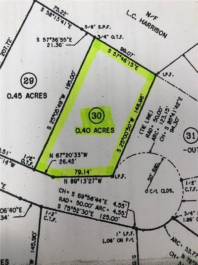 Residential Lots & Land For Sale: Hidden Pond Lot 30