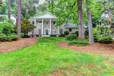 Dunwoody Single Family Home For Sale: 1614 Kings Down Circle