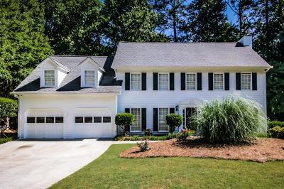 Marietta Single Family Home For Sale: 3040 Bristlewood Lane NW