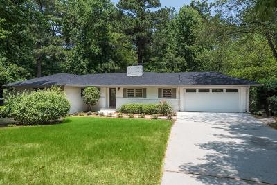 Sandy Springs Single Family Home For Sale: 506 Lorell Terrace