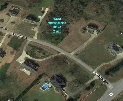 Residential Lots & Land For Sale: 4320 Homestead Drive