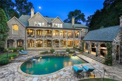 Marietta Single Family Home For Sale: 250 Pine Valley Road SE