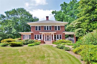 Druid Hills Single Family Home For Sale: 1248 Oxford Road NE