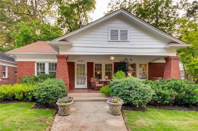 Peachtree Hills Single Family Home For Sale: 2424 Glenwood Drive NE