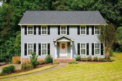 Marietta Single Family Home For Sale: 345 Millbrook Trace