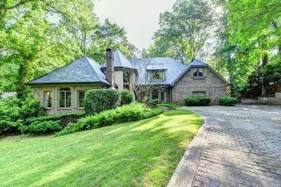 Sandy Springs Single Family Home For Sale: 9345 Huntcliff Trace