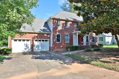 Marietta Single Family Home For Sale: 1295 Hilton Drive