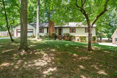 Powder Springs Single Family Home For Sale: 4558 Karron Drive