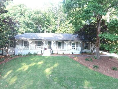 Brookhaven Single Family Home For Sale: 1266 Ragley Hall Road NE