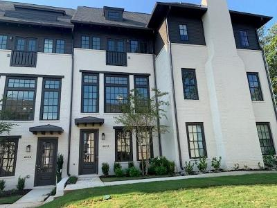 Sandy Springs Condo/Townhouse For Sale: 6612 Aria Village Drive #638