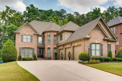 Suwanee Single Family Home For Sale: 5455 Estate View Trace