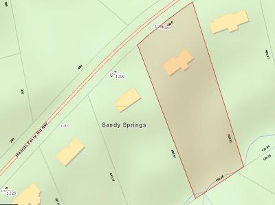 Sandy Springs Residential Lots & Land For Sale: 1290 Heards Ferry Road