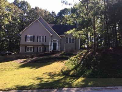 Hiram Single Family Home For Sale: 488 Lakeside Drive