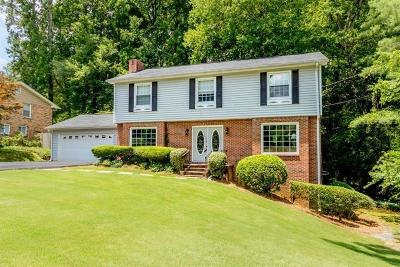 Sandy Springs Single Family Home For Sale: 6716 Wright Road