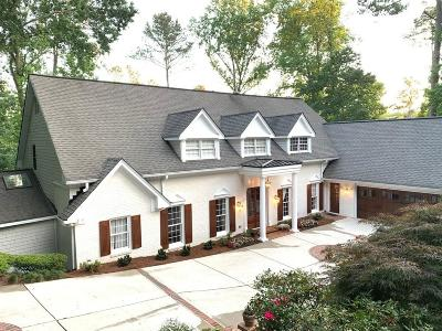 Sandy Springs Single Family Home For Sale: 120 Ridgemont Trace