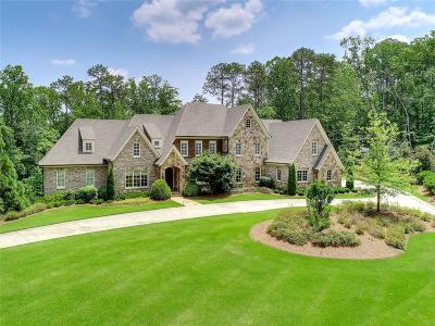 Roswell Single Family Home For Sale: 3832 Rock Ivy Trail NE