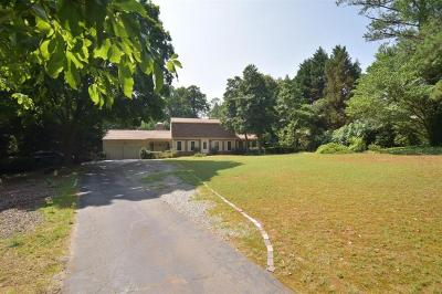 Cobb County Single Family Home For Sale: 119 Woodlawn Drive NE