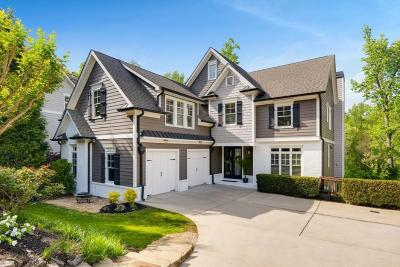 Roswell Single Family Home For Sale: 225 Kings Mill Court