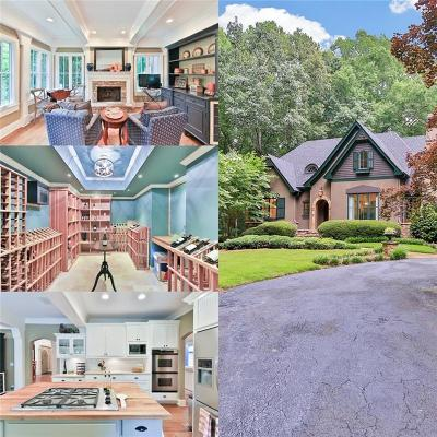 Milton Single Family Home For Sale: 2080 Country Ridge Road