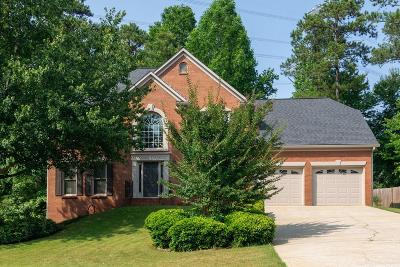 Kennesaw Single Family Home For Sale: 1658 Duxbury Lane NW