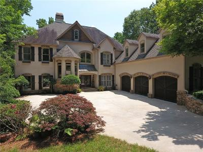Cumming Single Family Home For Sale: 5337 Bay Circle