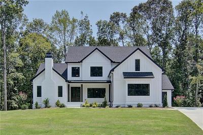 Cumming Single Family Home For Sale: 120 White Oak Trail