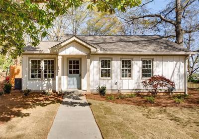 Marietta Single Family Home For Sale: 289 Grover Street SE