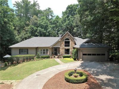 Brookhaven Single Family Home For Sale: 3528 Stratfield Drive NE