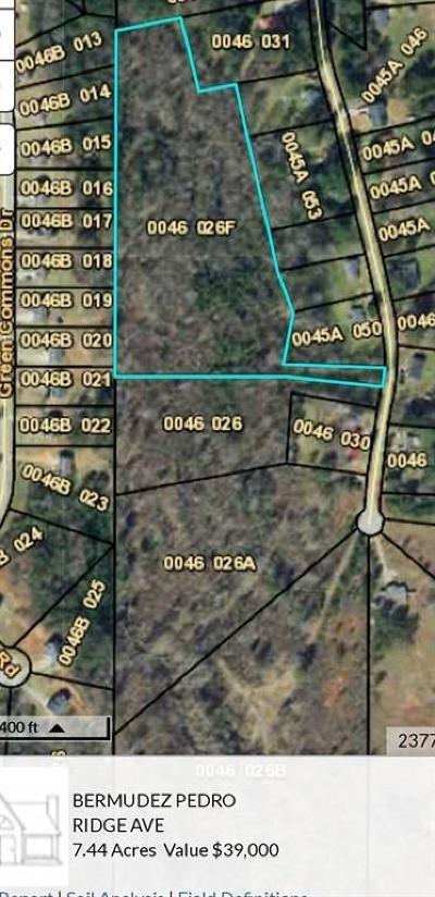 Covington Residential Lots & Land For Sale: Ridge Avenue