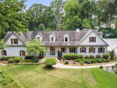 Single Family Home For Sale: 299 Saint Marys Lane NW
