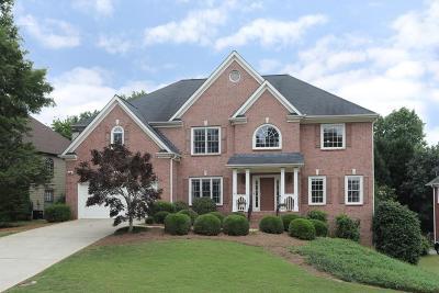Suwanee Single Family Home For Sale: 4055 Regal Oaks Drive