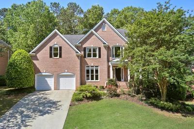 Alpharetta Single Family Home For Sale: 3050 Walnut Creek Drive