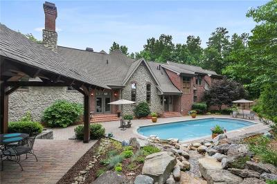 Kennesaw Single Family Home For Sale: 1156 NW Button Hill Road NW