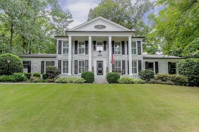 Sandy Springs Single Family Home For Sale: 635 River Valley Road