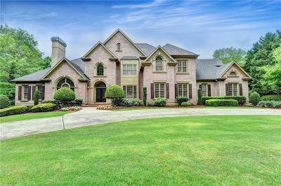 Suwanee Single Family Home For Sale: 6410 Haddington Lane