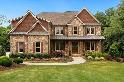Alpharetta Single Family Home For Sale: 220 Five Oaks Farm Road